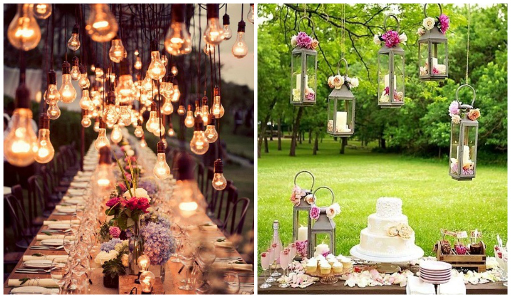 10 ideas colgantes para decorar tu boda nupcias magazine - Decoracion bodas ...
