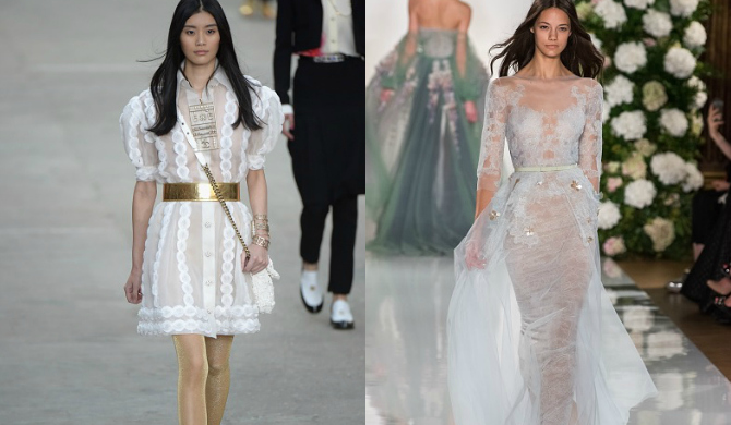 Alta costura para novias en Paris Fashion Week