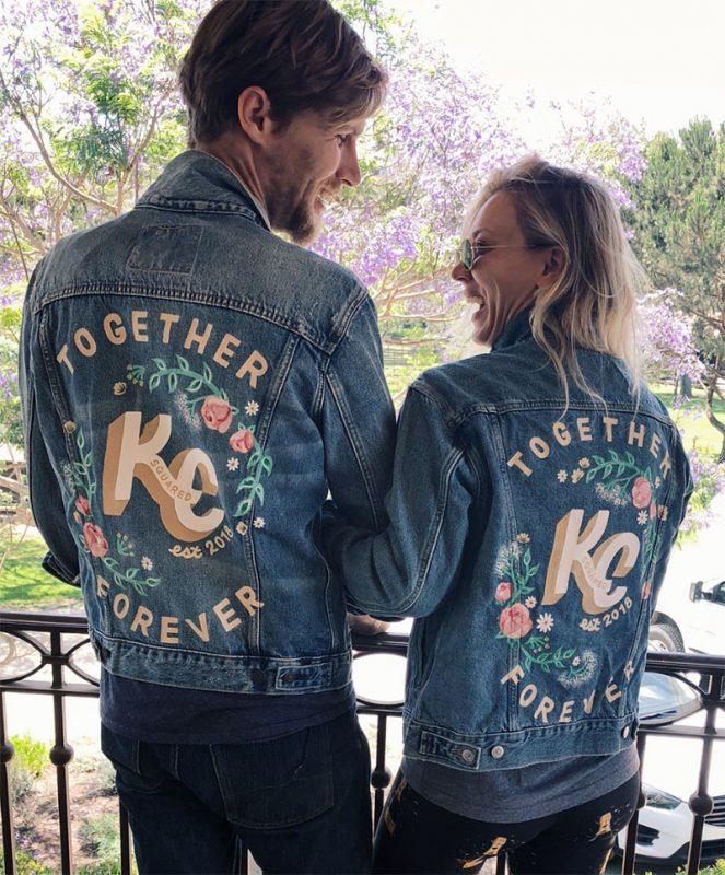 Together Forever, Kaley Cuoco y Karl Cook.