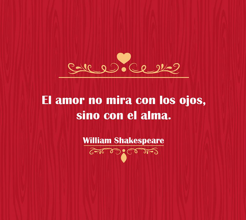 Frases de William Shakespeare.