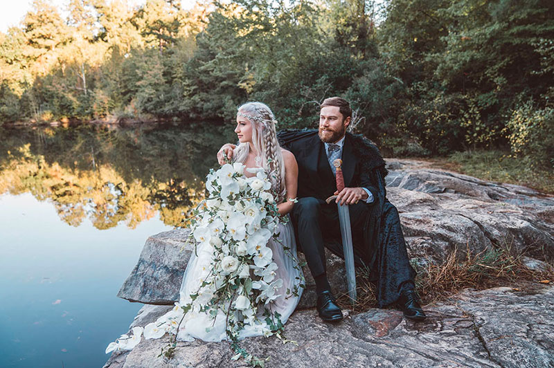 Ideas de boda inspiradas en Game of Thrones.