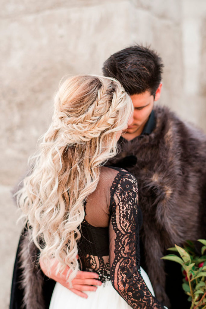 Peinados de bodas inspirados en Game of Thrones.