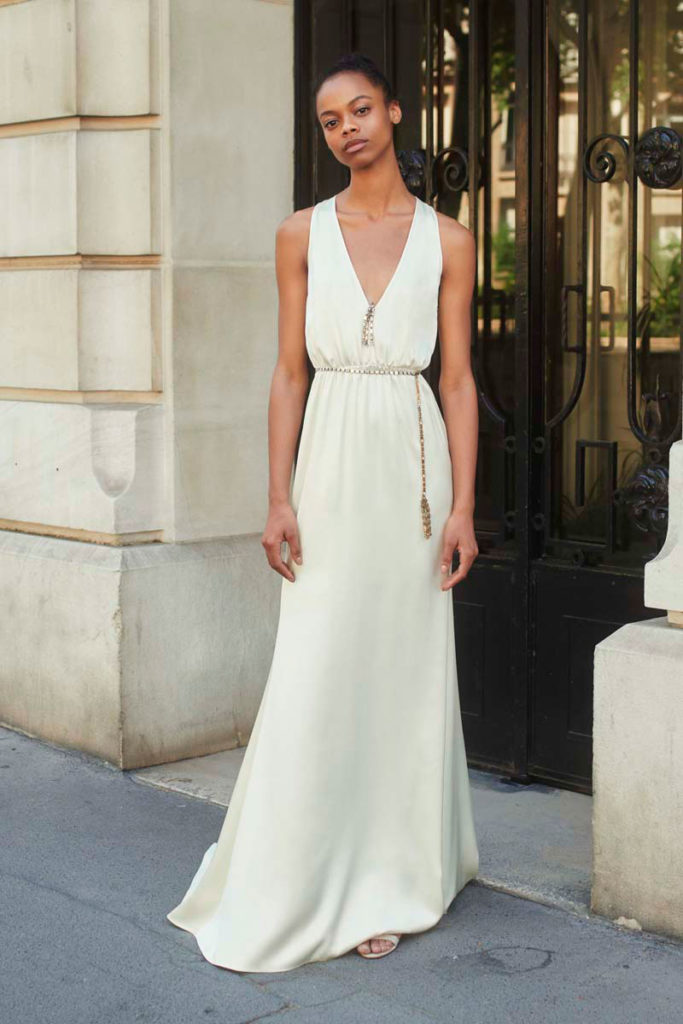 Julie de Libran Couture wedding dress.